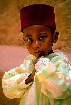Young Boy of Glaoui Kasbah, Taourirt ~ Ouarzazate, Morocco