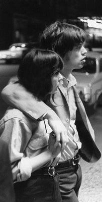 Mick Jagger and Chrissie Shrimpton - Dating, Gossip, News, Photos Mick Jagger Wife, Mick Jagger Girlfriend, Chrissie Shrimpton, Sister Act, Look At The Stars, Lady And Gentlemen, Celebrity Couples, Rolling Stones, Rock N Roll