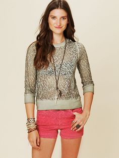 Free People We The Free Rochelle Pullover, $29.95