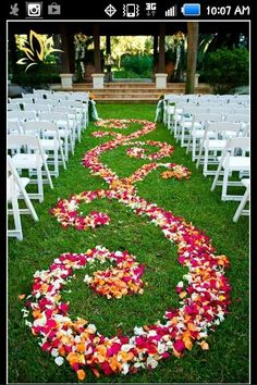 Design down the aisle #weddingidea