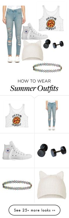 """Untitled #20"" by mariahbatman on Polyvore featuring Cheap Monday, Converse, Topshop and Accessorize"