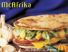 McAfrika was released during a 12MM famine in Africa in 2002. Not the best timing, McDonald's