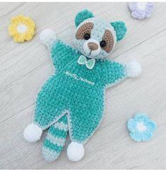 Crochet Baby Toys, Baby Afghan Crochet, Crochet Bear, Crochet Patterns Amigurumi, Crochet For Kids, Amigurumi Doll, Crochet Dolls, Baby Lovey, Plush Pattern