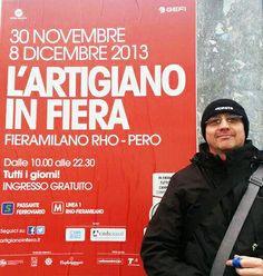 coraggioso: contro il freddo pur di dimostrare amore ad #artigianoinfiera!