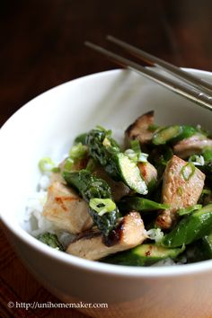 Chicken and Asparagus Stir Fry. Come share your recipes with us, if you have a blog we will post your recipes on our page on www.facebook.com/TheTexasFoodNetwork #TheTexasFoodNetwork @Chef Shelley Pogue