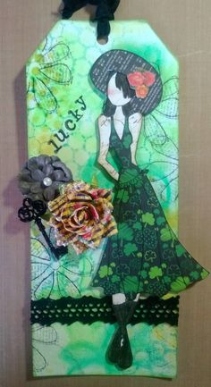 Julie Nutting Designs: Tag of the Month...Lucky!