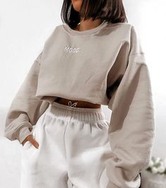 missy empire Scarlet Beige Mood Slogan Oversized SweatshirtYou can find Lazy outfits and more on our website. Cute Lazy Outfits, Teenage Outfits, Chill Outfits, Retro Outfits, Mode Outfits, Stylish Outfits, Vintage Outfits, Fashion Outfits, Sporty Fashion