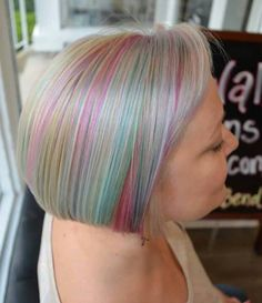 The Bend Salon • Barber - Webster Groves, MO - St. Louis - Opal -confetti - Hair Color