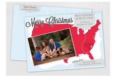 Just Moved Christmas Card on Etsy, $20.00