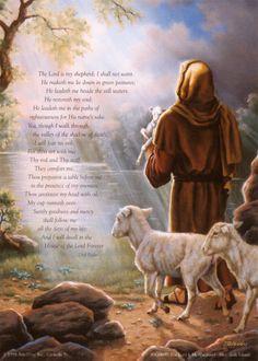 Psalm 23--my moms favorite bible verse