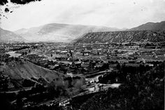 Circa 1895. View of downtown Durango looking Northeast from Smelter Mountain. Can you spot the Railroad Depot? Courthouse? Mercy Hospital?