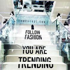 follow fashion Work Inspiration, Signage, Cinema, Marketing, Fashion, Moda, Movies, Fashion Styles, Billboard
