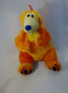 "Disney Bear in the big blue house 14"" plush toy Jim Hensen USED   #Disney"