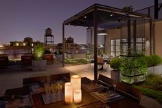West End Roof Terrace by Sawyer | Berson