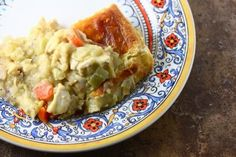 The best recipe for homemade chicken pot pie...