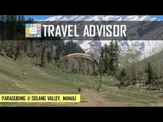 Paragliding in Manali (Solang Valley), India   HD