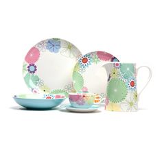 Crazy Daisy Dinnerware from Ming Wo, Spring/Summer 2012 Capilano Mall