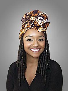 Queen B African Headwrap  Kente Scarves Ankara Headwraps Kente Headwraps *** Read more at the image link. #HairElasticsandTies