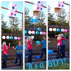Gender Reveal Party!