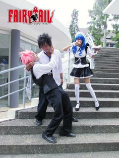 Fairy Tail Cosplay Maid & Butler Version