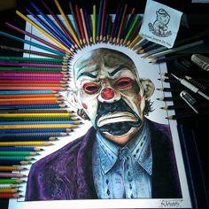 Joker drawing by Tattoo Teddy