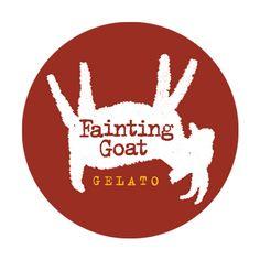 Fainting Goat logo, Modern Dog Design