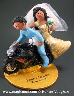 59 Best Harley Davidson Motorcycle Wedding Cake Toppers