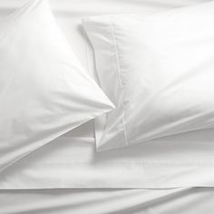 pima 415 thread count white king sheet set