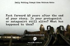 WritingPrompt– Fast forward 40 years