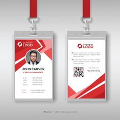 Simple and clean employee id card design template Identity Card Design, Brochure Design, Creative Company, Ads Creative, Id Card Template, Card Templates, Employee Id Card, Company Id, Id Design