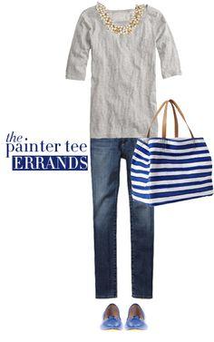 The J. Crew Painter Tee | Running Errands