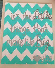 Sorority Craft Ideas, Little Craft Ideas, Big Little, Chevron, Sorority Graduation Gifts