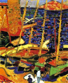 Andre Derain, The Port of Collioure, 1905