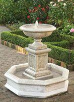 Solar Fountain Home Depot 3421908877 3421908877 Water Fountain Design, Fountain Ideas, Charleston Gardens, Garden Fountains, Plein Air, Water Garden, Garden Planning, Water Features, Backyard Landscaping