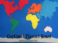This site provides many good ideas for creative geography plans.