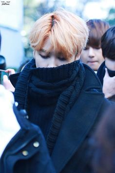 BTS Going to Music Bank [160108]