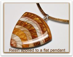 Tutorial: How to apply Resin to polymer clay pendants...the secret to success