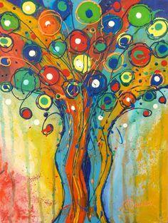 I'm Happy - Acrylic paint