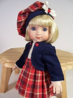 Picture-Perfect-Plaid-Made-for-10-Ann-Estelle-10-Patsy-by-TDDesigns. Ends 8/24/14. SOLD for $53.00
