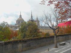 El Monasterio desde el Cuartel de la Guardia Real.