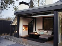Garden Fireplace Or Outdoor Fireplace – Stylish Comfort In The Garden! | Decor10