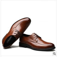 Handmade Genuine leather Men dress shoes, autumn oxford shoes for men ... Shop the best handmade shoes at http://www.tuccipolo.com