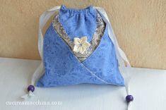 Come cucire un sacchetto origami in modo veloce – Cucire a Macchina Doterra, Drawstring Backpack, Origami, Backpacks, Bags, Fashion, Handmade Handbags, Sew, Tote Purse