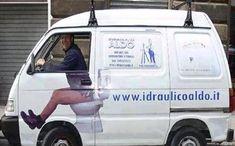 Funny Transportation: plumber on his thrown Advertising Fails, Creative Advertising, Marketing And Advertising, Free Advertising, Marketing Ideas, Content Marketing, Guerilla Marketing, Street Marketing, Aldo