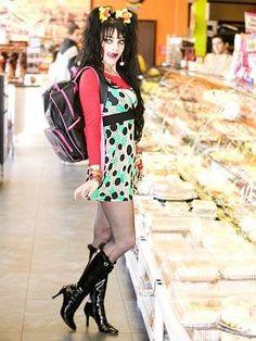 ninashop Nina Hagen, Black High Boots, Thigh High Boots Heels, Pop Fashion, Fashion Beauty, Goth Bands, Grey Tights, Actrices Sexy, Punk Goth