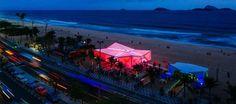 Yacht-inspired Olympic pavilion by Henning Larsen brings Danish culture to Rio Loop Lighting, Danish Culture, Henning Larsen, Rio Olympics 2016, Green Architecture, Rio 2016, Green Building, Danish Design, Pavilion