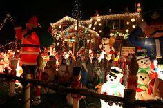 More than 500 lawn ornaments dot this New York Christmas wonderland. @Yahoo! News