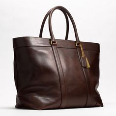 Coach :: Bleecker Legacy Leather Tote...another new job option :-)