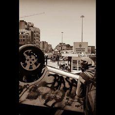 #sepia #blackandwhite #blackandwhitephotography #blackandwhitephotograph #photography #photograph #turkey #istanbul #taksimsquare #riots #riotgear #police #erdogan #travel #wanderlust #canon #teamcanon #canonphotography #canonphotos @canon_photos @tourtheplanet @cnn #tagging #graffiti
