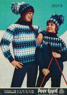 Norwegian Knitting, Christmas Sweaters, Knitting Patterns, Craft Ideas, Crafts, Fashion, Moda, Knit Patterns, Manualidades